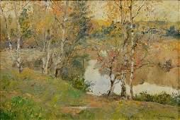 ISAAC ILYITCH LEVITAN RUSSIAN 1860-1900