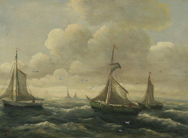 1023: KOEKKOEK (DUTCH) Approaching Port Oil