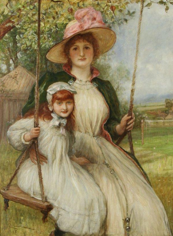 21: MAC BETH (BRITISH) Mother & Daughter Oil