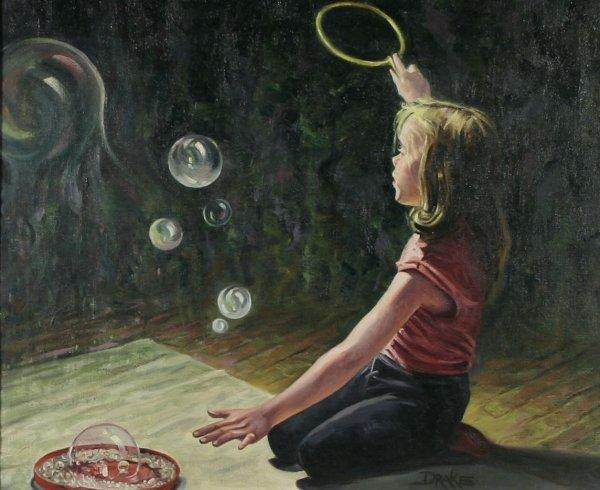 24: DRAKE (AMERICAN) Blowing Bubbles Oil