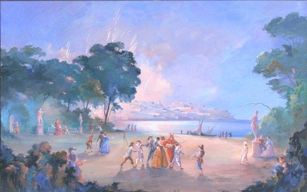2: SOMOV (ATTR) (RUSSIAN 1869-1939) Carnival