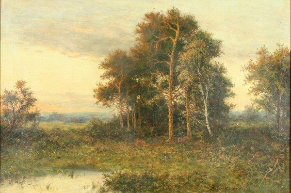 3: FEDOROV (RUSSIAN 18TH-19TH C) Landscape Oil