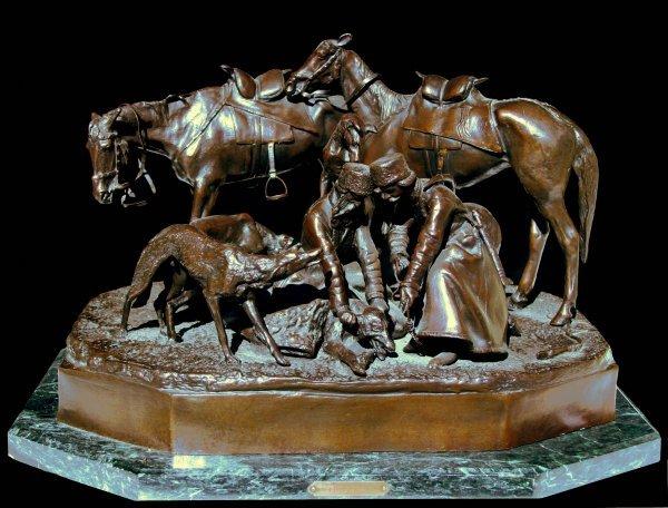 8: LIEBERICH (ATT) (RUSSIAN 1828-1883) Bronze