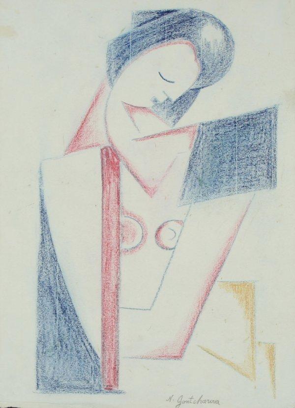 10: GONCHAROVA (ATTR) (RUSSIAN 1881-1962) Nude