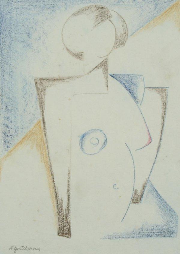 11: GONCHAROVA (ATTR) (RUSSIAN 1881-1962) Nude