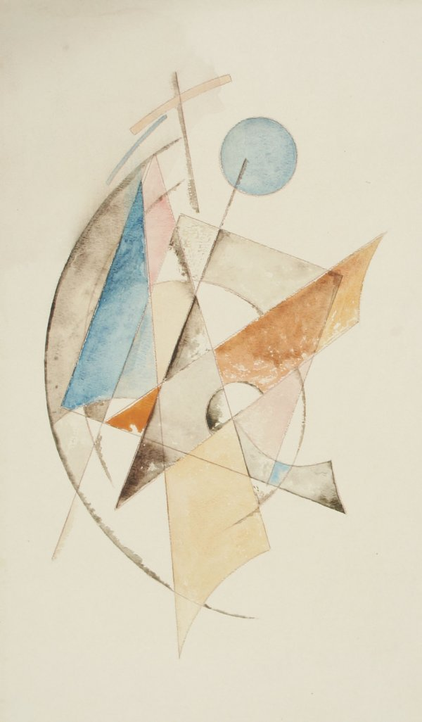 1011: RODCHENKO (ATTR) (RUSSIAN 1891-1956) Abstract