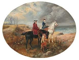JAN CHELMINSKI POLISH 1851-1925