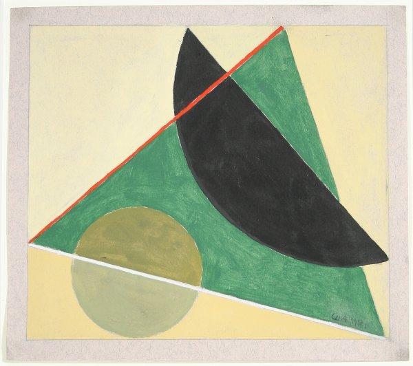 """13: SHEVCHENKO (RUSSIAN 1884-1948 ) """"Geometric Co"""