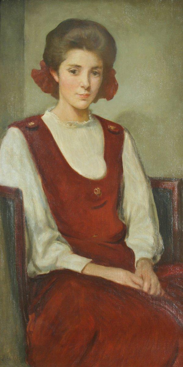 "71: ALEXANDER (AMERICAN 1856-1915) ""Portrait of a"