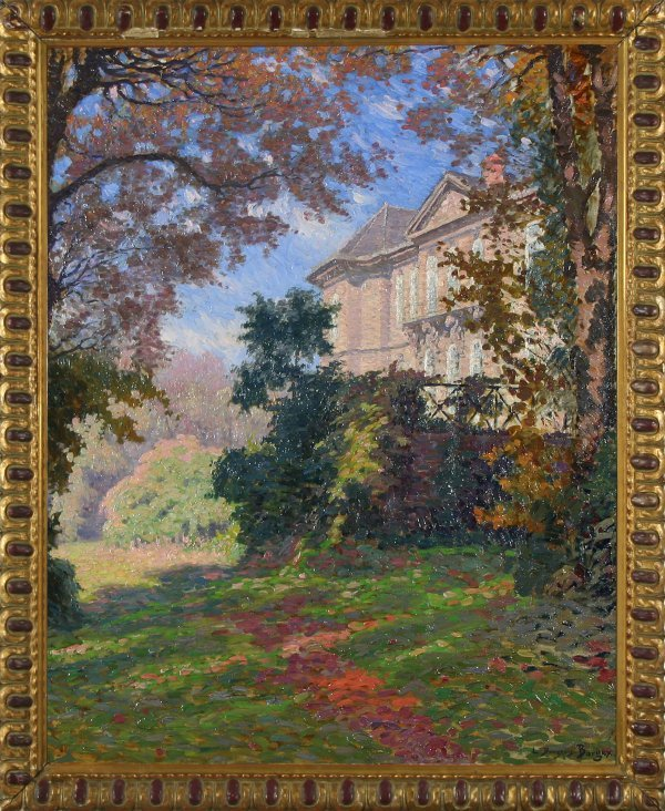 8: BOURGEOIS-BORGEX  (FRENCH B1873) Chateau