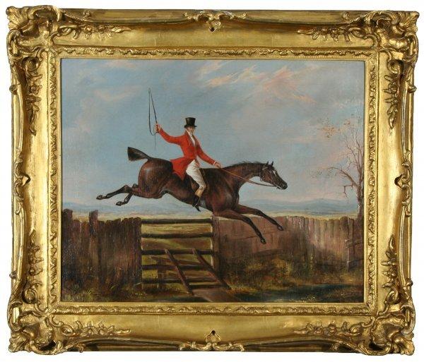 9: LAPORTE (ATTR) (FRENCH/ENGLISH 1799-1873) Fence