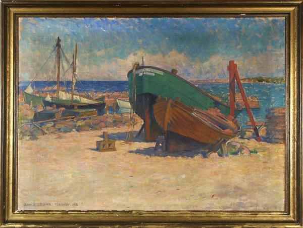 14: OSTERLUND (SWEDISH 1875-1953) Torekov, South