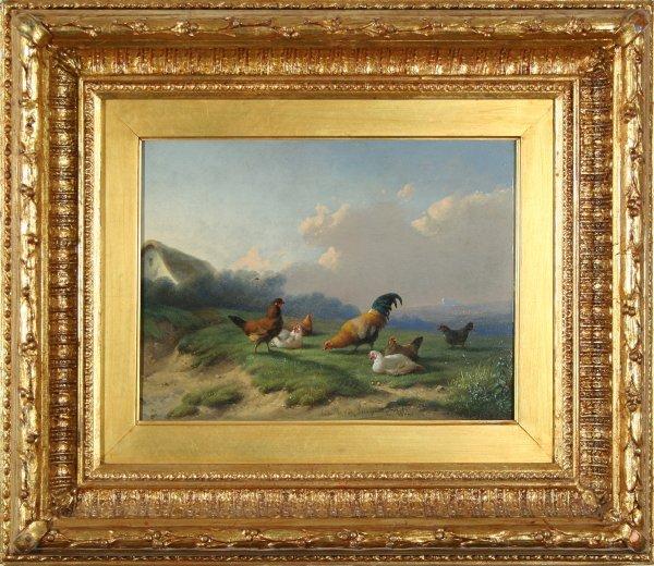 18: VAN LEEPUTEN (BELGIUM 1841-1902) Farm Scenes