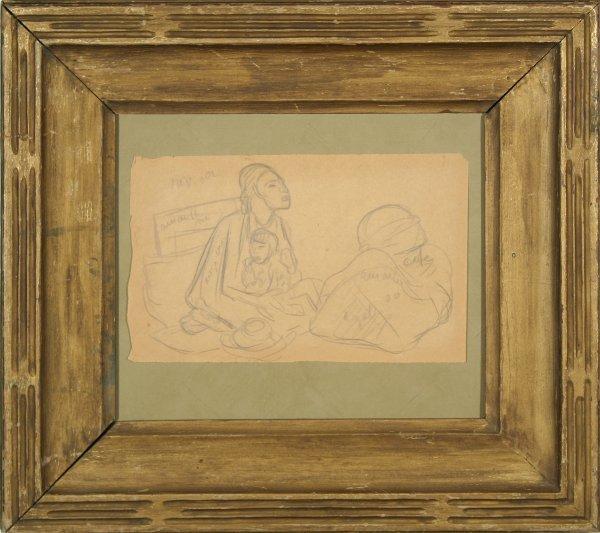 24: RIVERA (MEXICAN 1886-1957) Woman w/Child