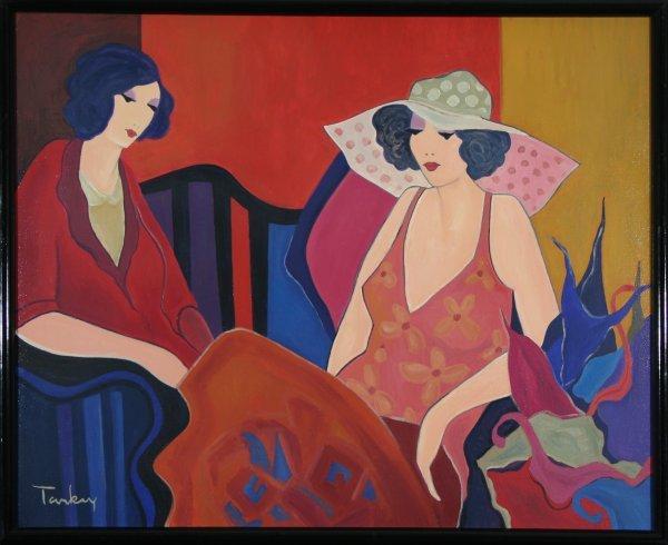 130: TARKAY (ISRAEL B1935) Women in Conversation