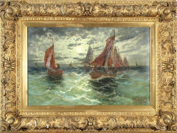 164: FRENCH 19-20TH CENT Sur La Mer