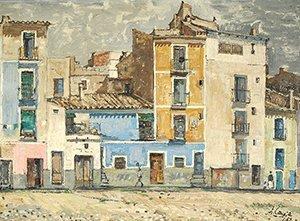 8: CONEJO (SPANISH 1913-1994) Villajoyosa,1959