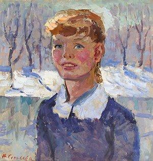 11: SERGEEVA (POLISH 1921-1994) Young