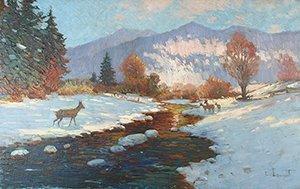 18A: LOUYOT (GERMAN 1861-1909) Deer