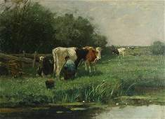 62 SCHERREWITZ DUTCH 18681951 Milking