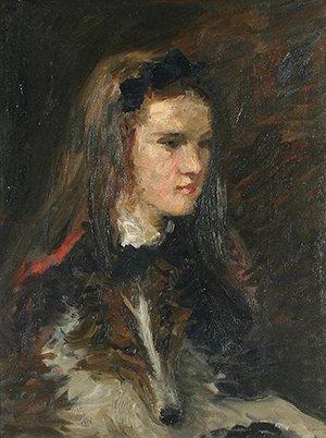 150: TACK (AMERICAN 1870-1949) A Girl