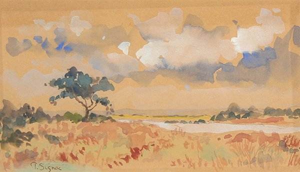 3: SIGNAC (FRENCH 1863-1935) Paysage