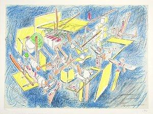 12: MATTA (CHILEAN 1911-2002 ) Composition