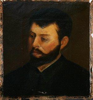 13: LHOTE (FRENCH 19TH CENTURY) Portrait