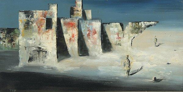 21: TOSI (ITALIAN 1871-1956) Surrealist Scene