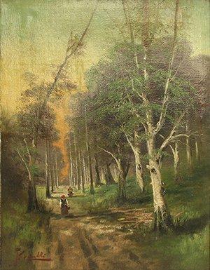22: CARNELLI (ITALIAN 19TH CENTURY) Road Thru