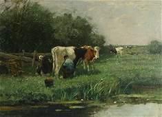 91 SCHERREWITZ DUTCH 18681951 Milking