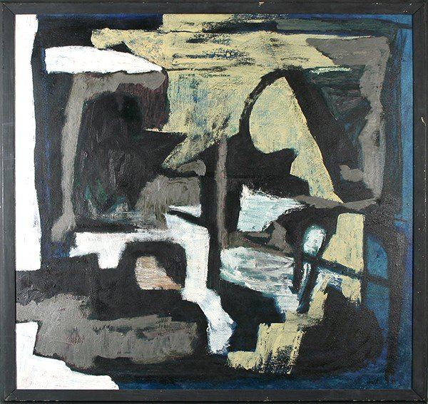 """HART (AMERICAN 1912-1979 ) """"Abstraction"""""""