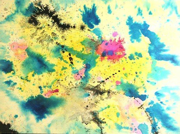 "SCARLETT (AMERICAN 1891-1984) ""Abstraction"""