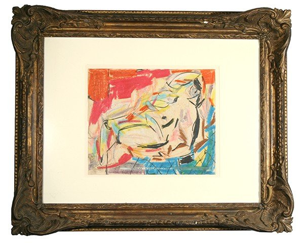 """VYTLACIL (AMERICAN 1892-1984 ) """"Abstract Figure"""""""