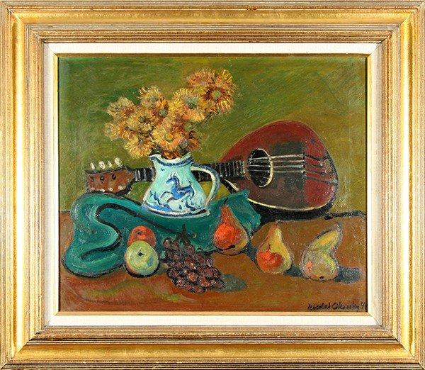 """CIKOVSKY ( RUSSIAN/AMERICAN 1894-1984) """"Still Life"""