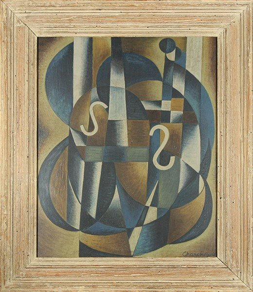 "CHARCHOUNE (RUSSIAN 1888-1975 )""Composition"""