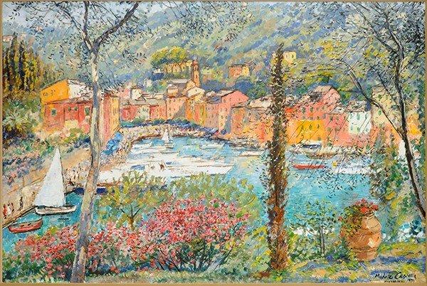 "CASCELLA (ITALIAN 1892-1989) ""Pressagio a Fleurs"