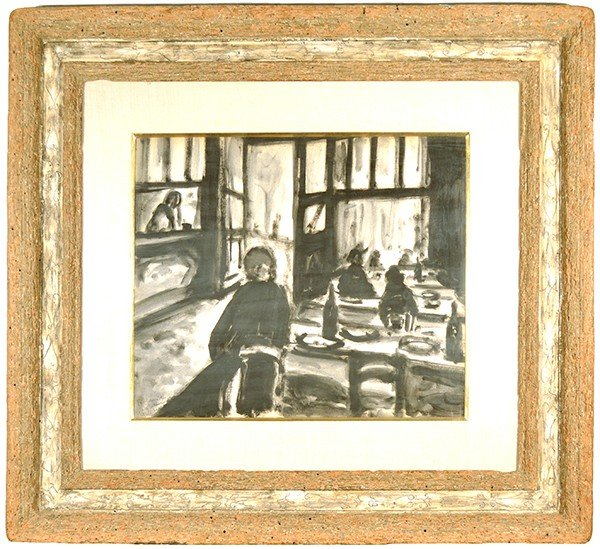 ARBIT BLATAS (LITHUANIAN 1909-1999), watercolor