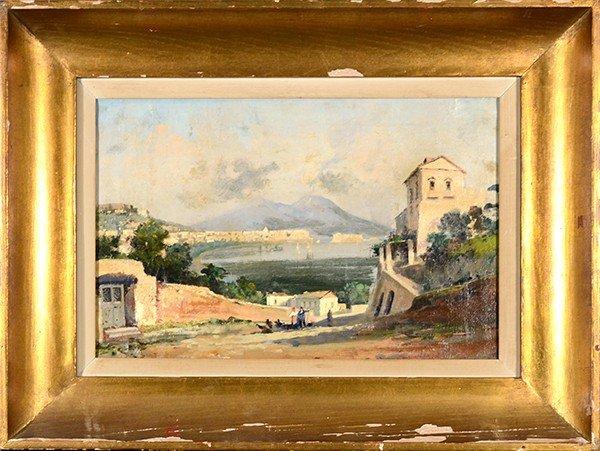 OSCAR RICCIARDI (ITALIAN 1864-1935), oil on canvas