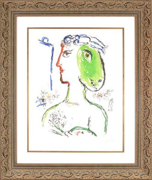 1: MARC CHAGALL RUSSIAN/FRENCH 1887-1985