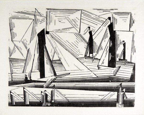 7: LYONEL FEININGER GERMAN/AMERICAN 1871-1956