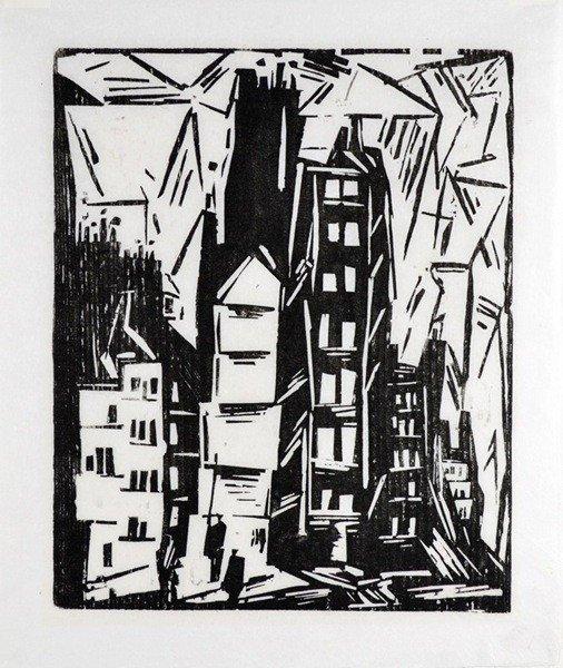 8: LYONEL FEININGER GERMAN/AMERICAN 1871-1956