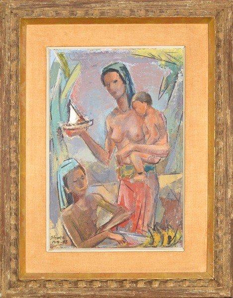 15: MAURICE STERNE (N.A) AMERICAN 1877-1957