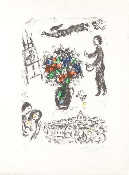 12: MARC CHAGALL (RUSSIAN/FRENCH 1887-1985)