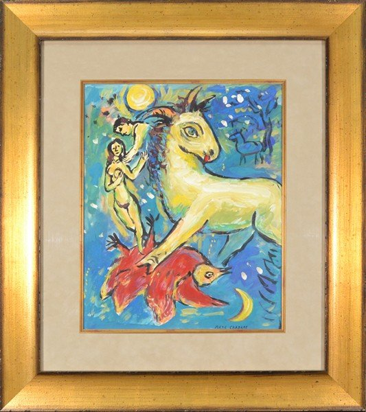 13: MARC CHAGALL (MANNER OF) RUSSIAN/FRENCH 1887-1985