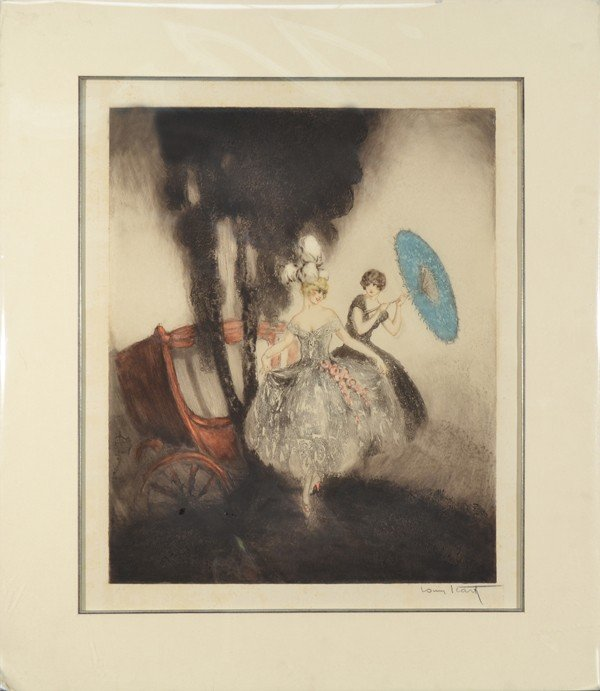 5: LOUIS  ICART (FRENCH 1880-1950)
