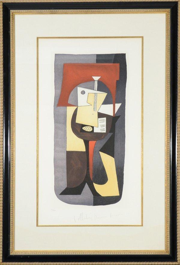 """2: PABLO PICASSO SPANISH 1881-1973 """"Guitare et Partitio"""