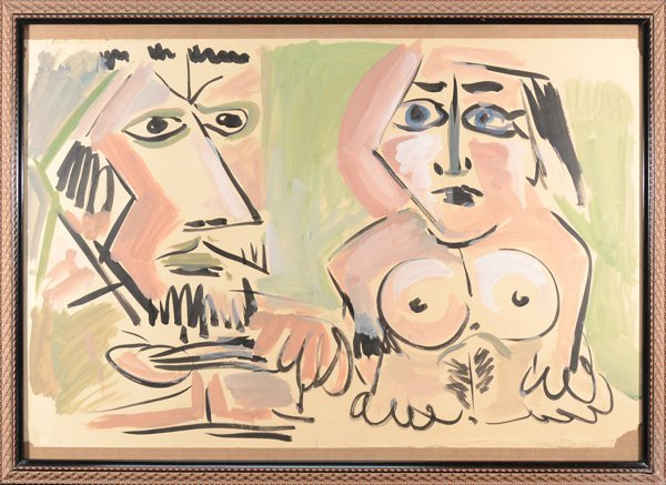 10: PABLO PICASSO (MANNER 0F) SPANISH/FRENCH 1881-1973