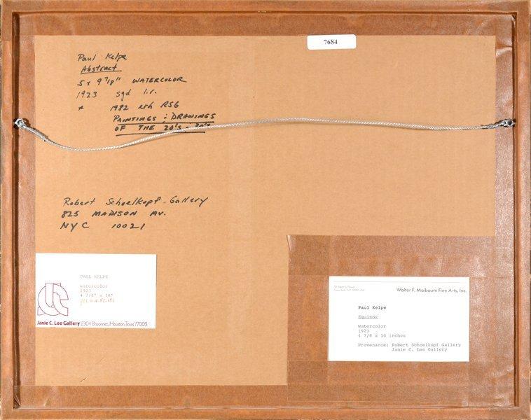 1: PAUL KELPE (GERMAN/AMERICAN 1902-1985) - 3