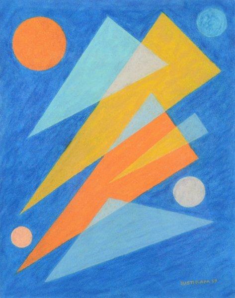 3: EMILE BISTTRAM (AMERICAN 1895-1976) - 2